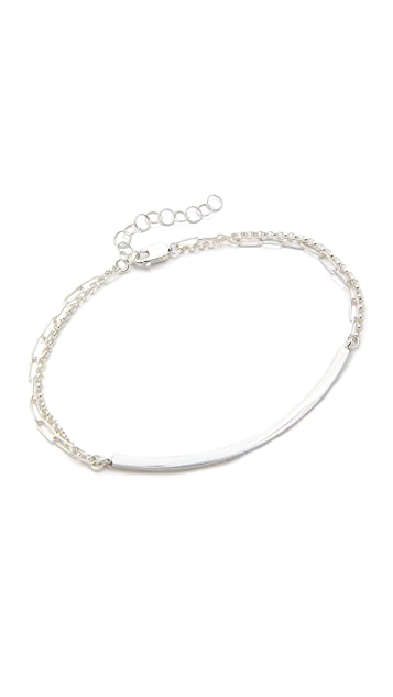Kristen Elspeth Curved Bar Bracelet