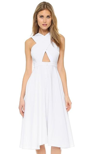 KENDALL + KYLIE Cross Front Dress