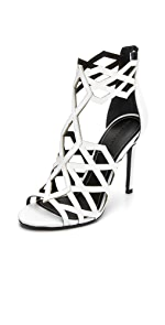 Elena Lattice Sandals                KENDALL + KYLIE