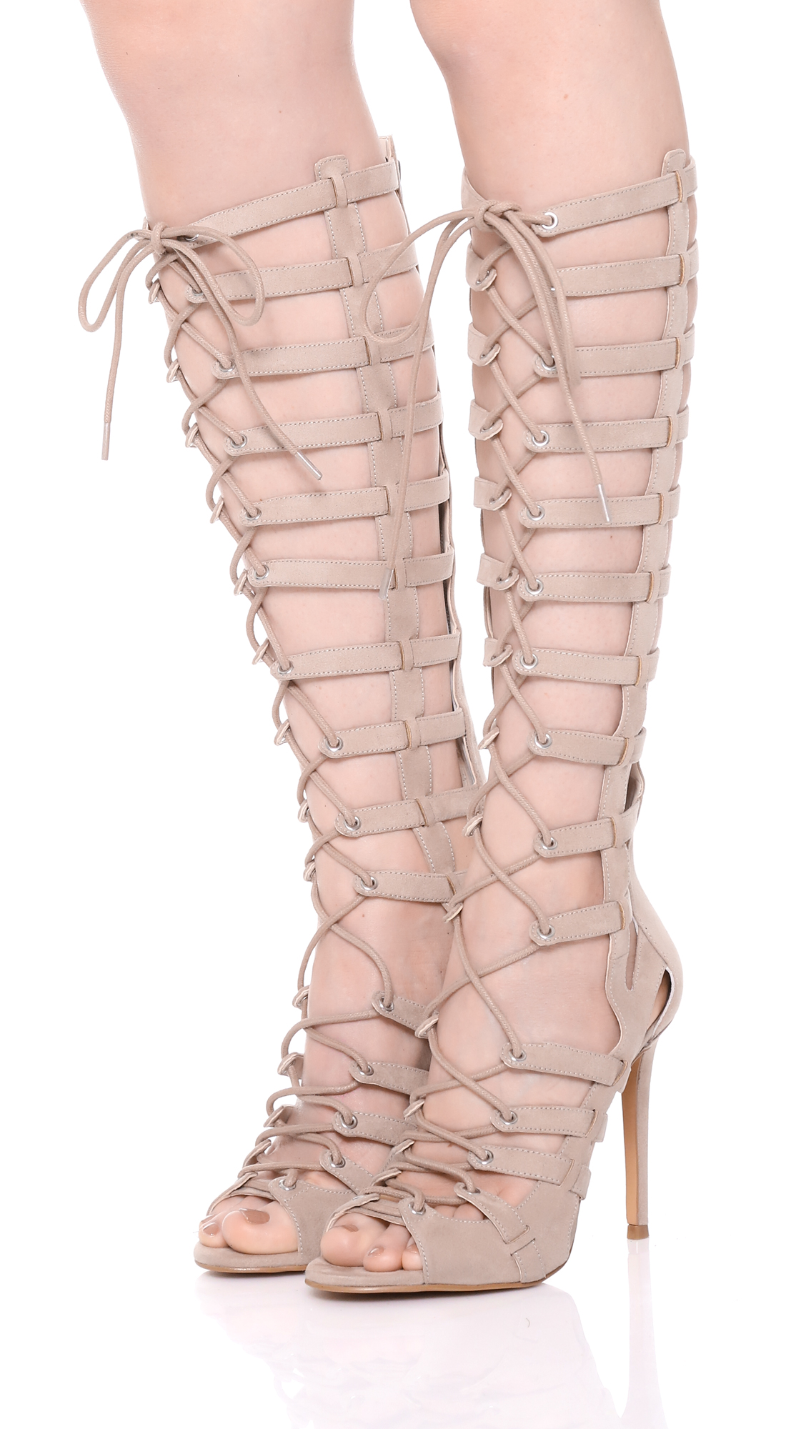 ed6940ac0958 KENDALL + KYLIE Emily Lace Up Sandals