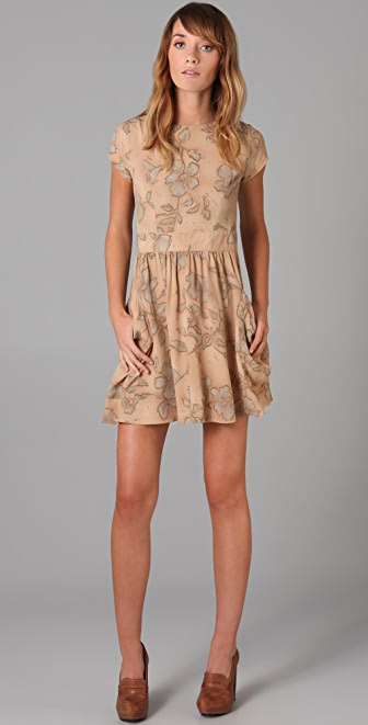 Kenny Penny Pockets Printed Dress