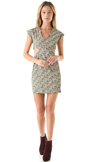 Kenny Cutout Body Con Dress