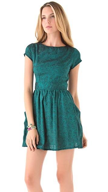 Kenny Open Back Dress with Pockets