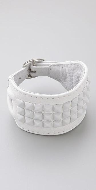 Kettle Black Studded Buckle Bracelet