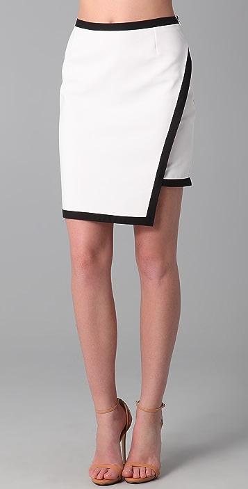 Kevork Kiledjian Banded Skirt