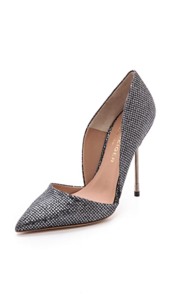 Kurt Geiger London Bond Metallic Pumps