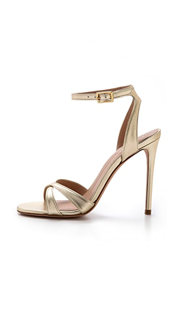Kurt Geiger London Maia Metallic Sandals