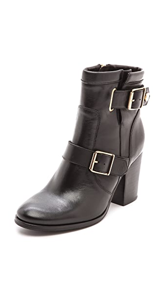 Kurt Geiger London Aubrey Short Buckle Booties