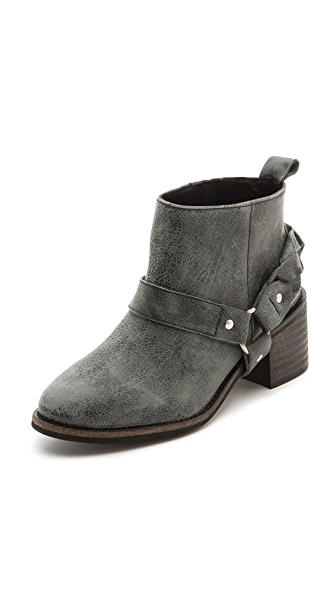 KG Kurt Geiger Sienna Braided Buckle Booties