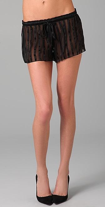 Kiki De Montparnasse Shadow Lounge Shorts