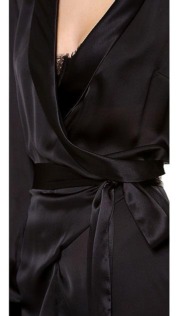 Kiki De Montparnasse Silk Nightporter Jumpsuit