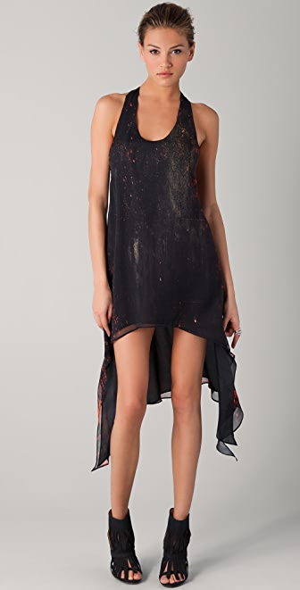 Kimberly Ovitz Zen Print Dress