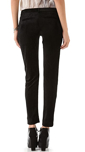 Kimberly Ovitz Brushed Velour Skinny Pants
