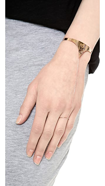 Kismet by Milka Pointed Hand Chain