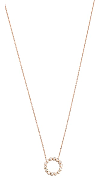 Kismet by Milka Open Circle Necklace