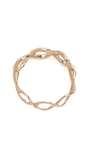 Kismet by Milka Wave Ring