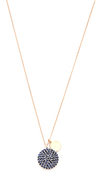 Kismet by Milka Pave Round Necklace