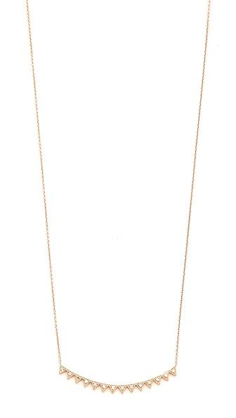 Kismet by Milka Crown Necklace