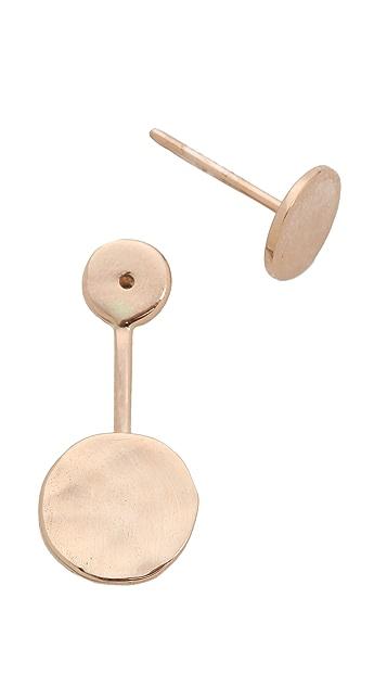 Kismet by Milka 2 Circle Earring