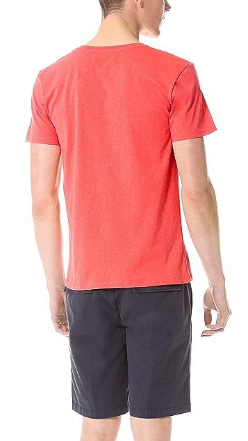 Kitsune Tee Paris 3 T-Shirt