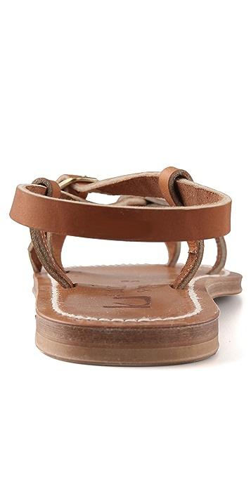 K. Jacques Jival Asymmetrical Thong Sandals