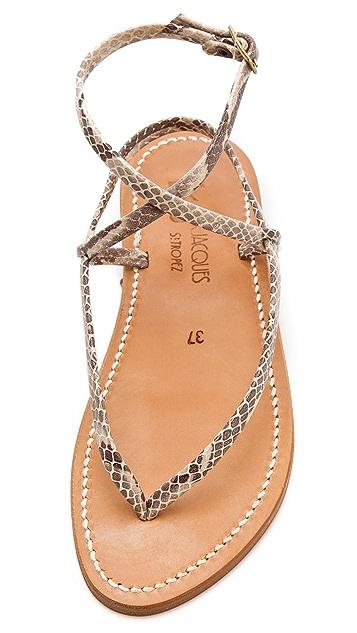 K. Jacques Delta Thong Sandals