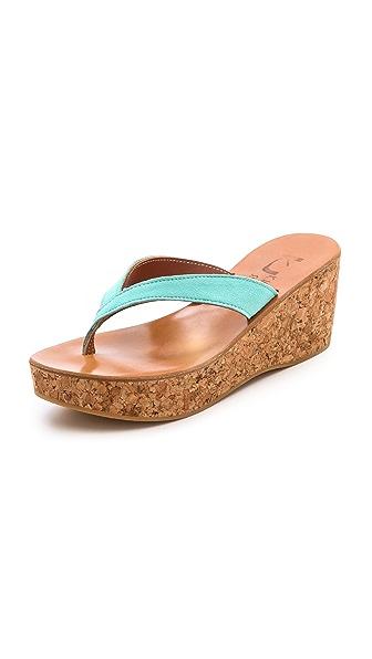 K. Jacques Diorite Thong Sandals