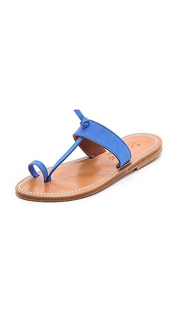 K. Jacques Ganges Toe Ring Sandals