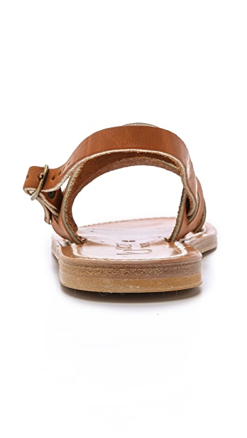 K. Jacques Barigoule Two Band Sandals