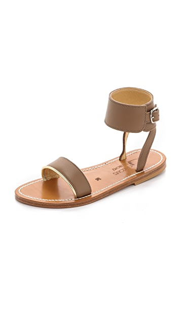 K. Jacques Saratoga Ankle Sandals