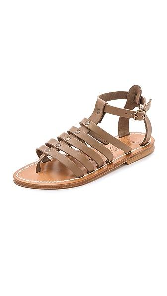 K. Jacques Agopos Gladiator Sandals