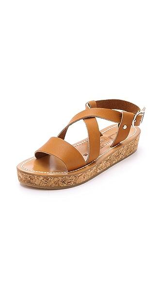 K. Jacques Fontenay Flatform Sandals