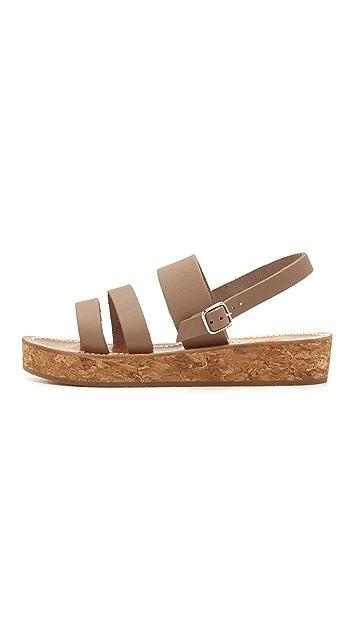K. Jacques Stavelot Flatform Sandals