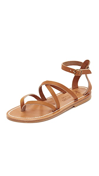 K. Jacques Epicure Sandals - Pul Natural