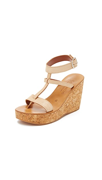K. Jacques Galatee Wedges
