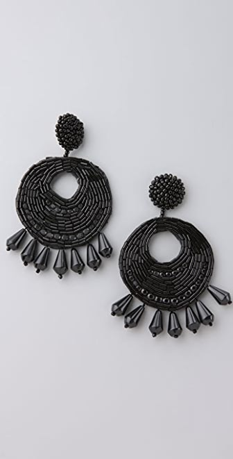 Kenneth Jay Lane Disco Gypsy Earrings