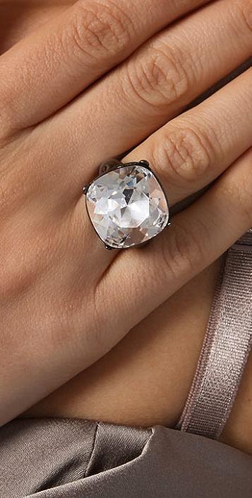 Kenneth Jay Lane Headlight Ring