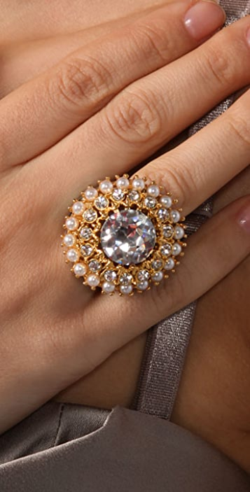 Kenneth Jay Lane Enamel Ring