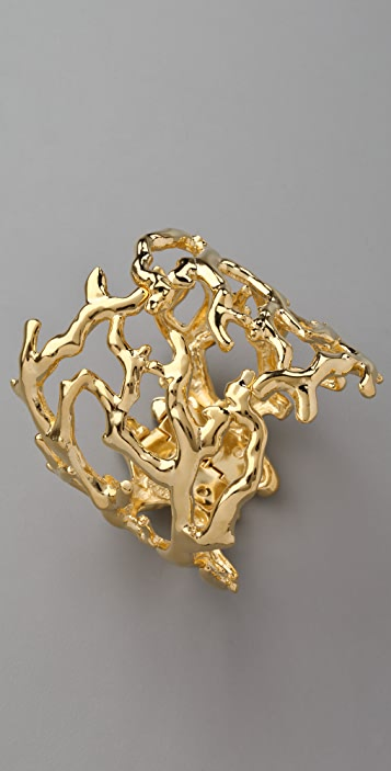 Kenneth Jay Lane Sculpted Branch Cuff
