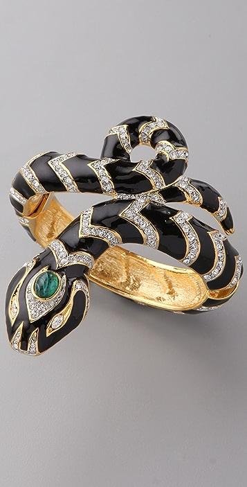 Kenneth Jay Lane Snake Bracelet