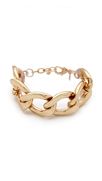 Kenneth Jay Lane Polished Lobster Claw Bracelet
