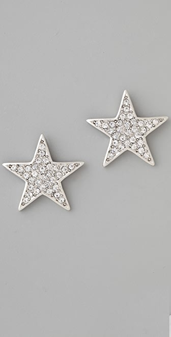 Kenneth Jay Lane Star Earrings