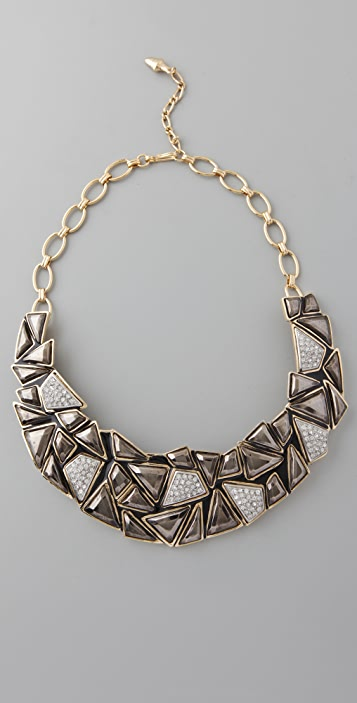 Kenneth Jay Lane Geo Collar Necklace