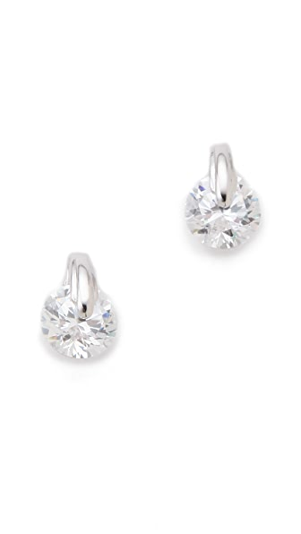 Kenneth Jay Lane Deco Stud Earrings