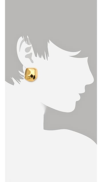 Kenneth Jay Lane Geometric Stud Earrings