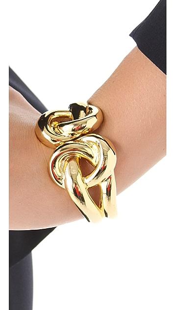 Kenneth Jay Lane Double Knot Bracelet
