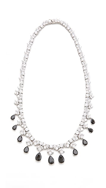 Kenneth Jay Lane Draped Pear Drop Necklace