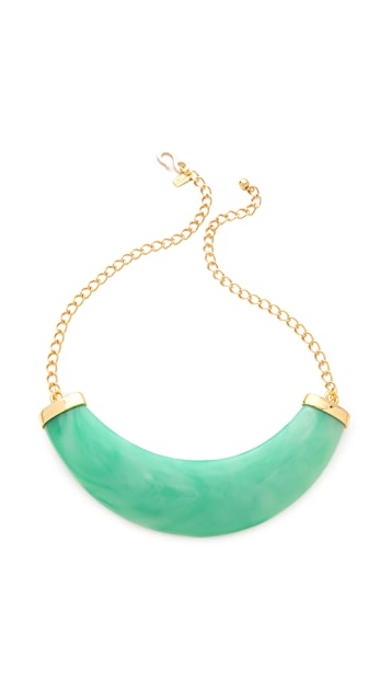 Kenneth Jay Lane Resin Bib Necklace