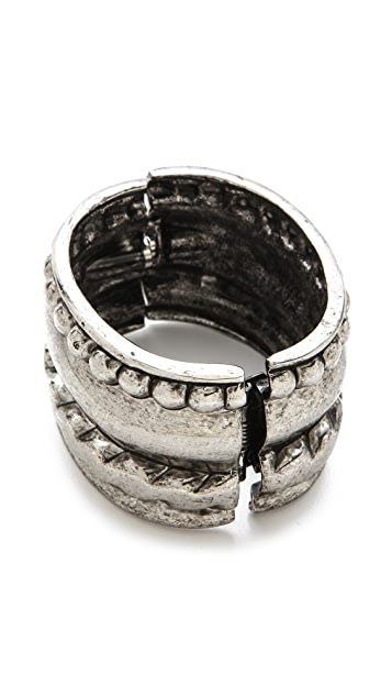 Kenneth Jay Lane Wide Cuff Bracelet