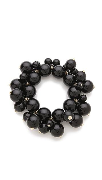 Kenneth Jay Lane Bead Cluster Stretch Bracelet